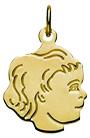 gouden-bedel-kinderkopje-maken